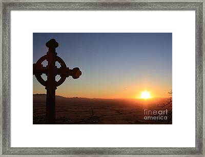 Spiritual Sunrise Framed Print