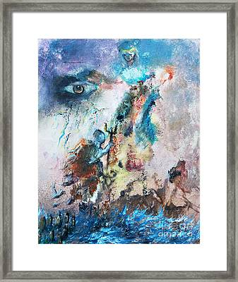 Spiritual Warfare Framed Print