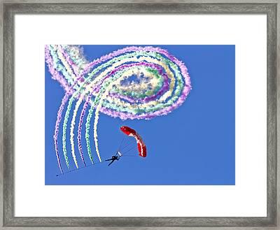 Spiro Framed Print