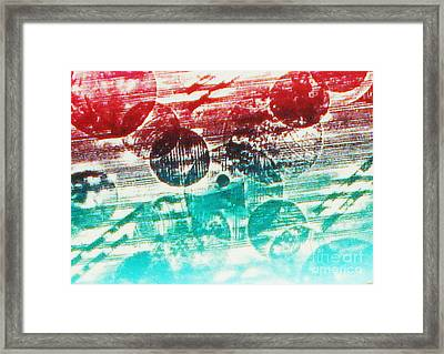 Spirtuality Of The Planet Framed Print by Yael VanGruber