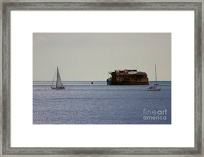 Spitbank Fort Martello Tower Framed Print