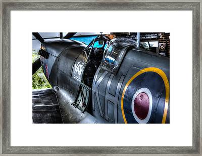 Spitfire Framed Print by Ian Hufton