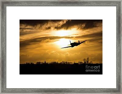 Spitfire Lines  Framed Print by J Biggadike
