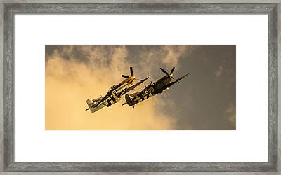 Spitfire Framed Print by Martin Newman