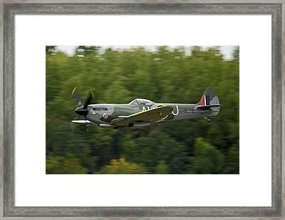 Spitfire Mk Xvi Framed Print by Jonathan Edwards - Corvidae Studio Photos