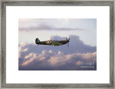 Spitfire Mk1 N3200  Framed Print by J Biggadike