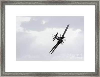 Spitfire Shadows Framed Print