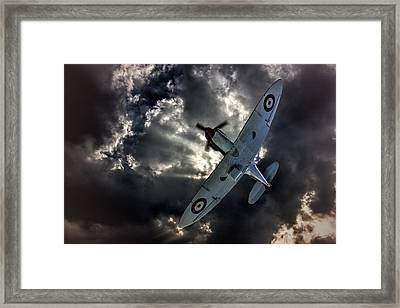 Spitfire Framed Print by Thanet Photos