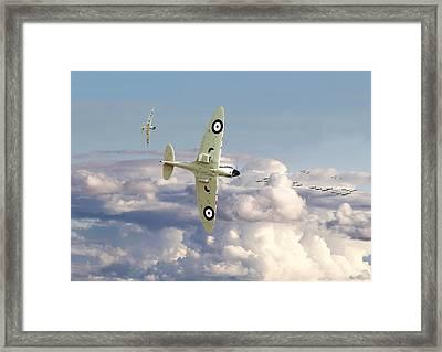 Spitfire - '....to So Few' Framed Print