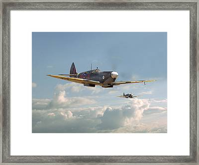 Spitfire - Two's Company Framed Print