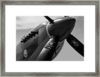 Spitfire Vickers Supermarine Mk Ixe Sl633 Framed Print