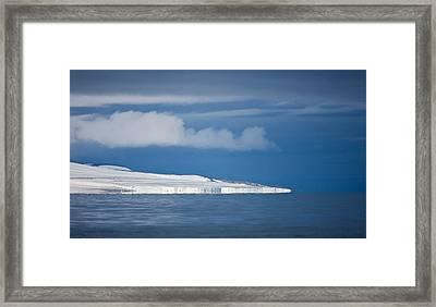 Spitsbergen Island, Svalbard, Norway Framed Print