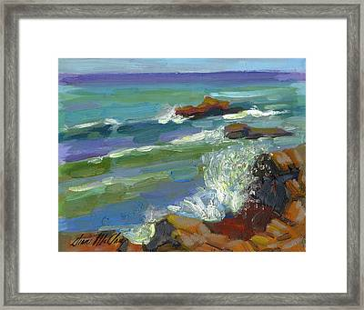 Splash 1 Framed Print by Diane McClary