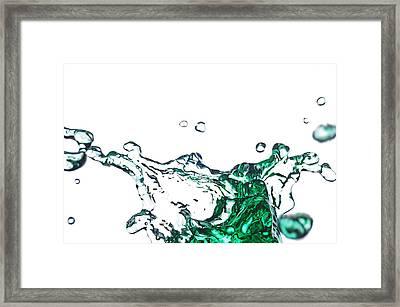 Splash 11 Framed Print