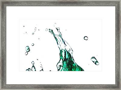 Splash 12 Framed Print