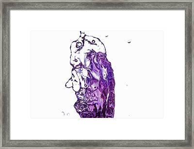 Splash 7 Framed Print