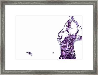 Splash 8 Framed Print