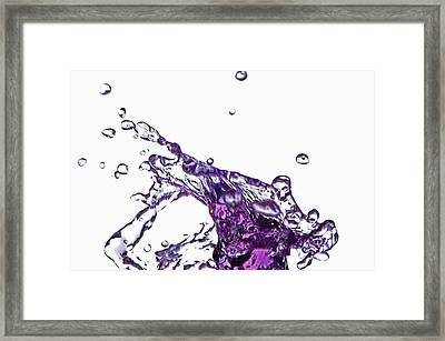 Splash 9 Framed Print