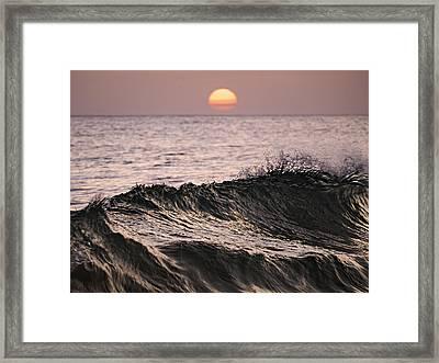 Framed Print featuring the photograph Splash by Antonio Jorge Nunes