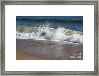Framed Print featuring the photograph Splash by Arlene Carmel