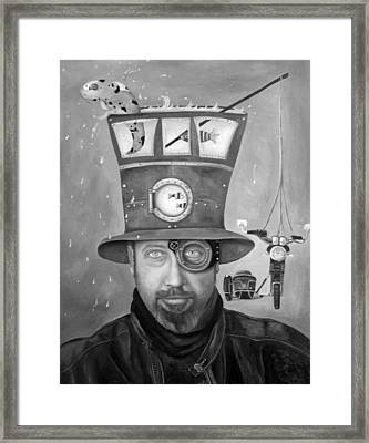 Splash Bw 2 Framed Print by Leah Saulnier The Painting Maniac