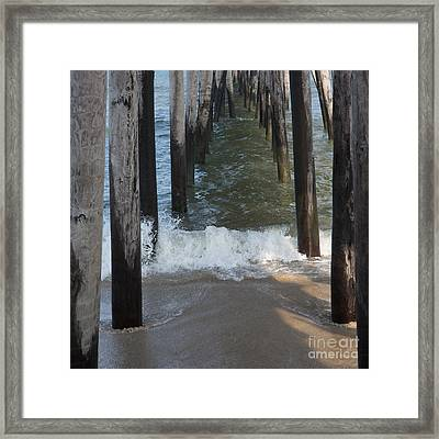 Splash Framed Print by Kay Pickens