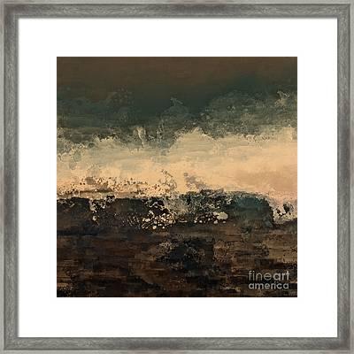 Distant Splash Framed Print by Lonnie Christopher