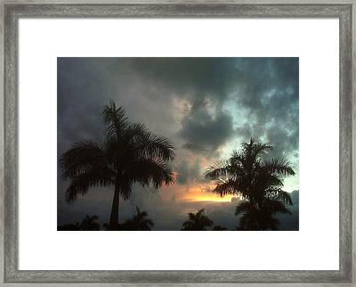 Splash Of Color Framed Print by K Simmons Luna