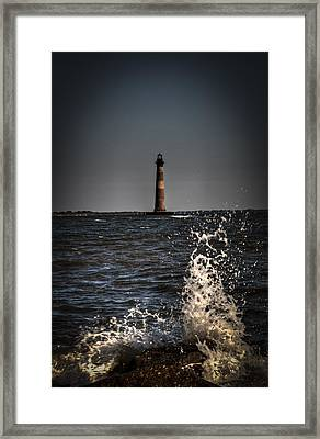 Splash Of Light Framed Print