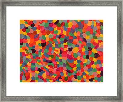 Splash Framed Print by Ronald Weatherford
