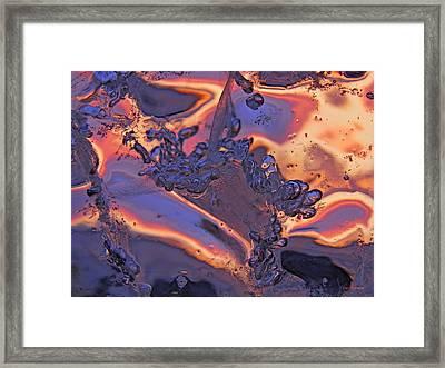 Splash Framed Print by Sami Tiainen