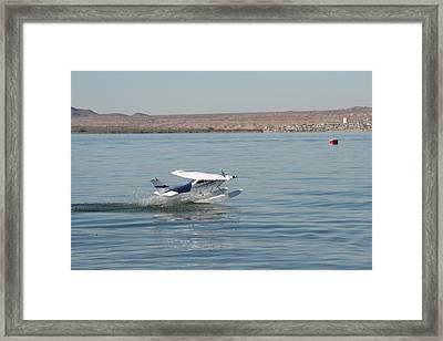 Splashdown Framed Print