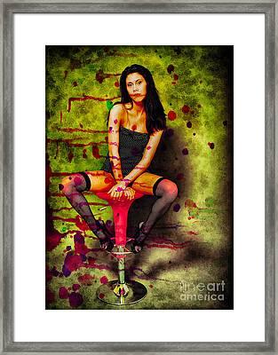 Splashed Framed Print by Billie-Jo Miller