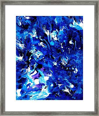 Splashed Framed Print
