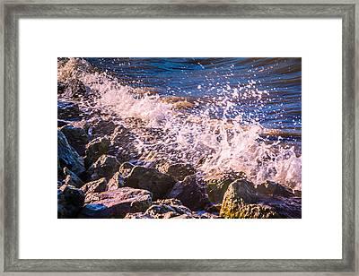Splashes Framed Print
