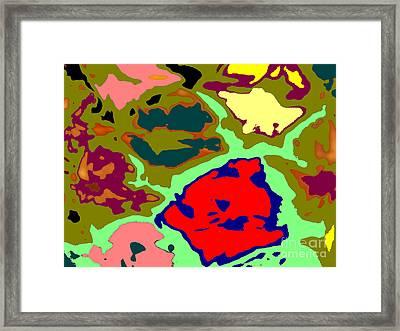 Splatter  Framed Print by Joseph Baril