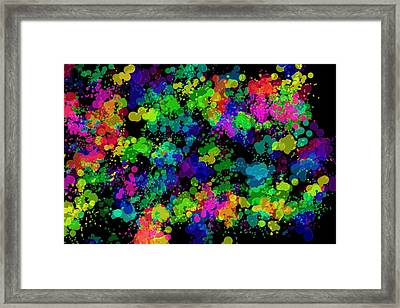 Framed Print featuring the photograph Splatter by Mark Blauhoefer