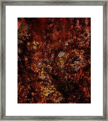 Splattered  Framed Print
