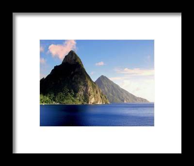 Wonders Of The World Framed Prints