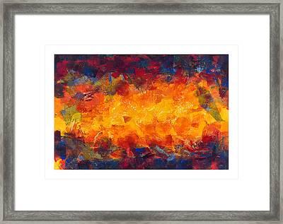 Splinter Flow Framed Print by Craig Tinder
