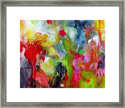 Framed Print featuring the painting Splinter by Katie Black