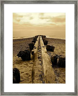 Framed Print featuring the photograph Splintered by Paul Foutz