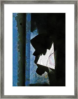 Splintered  Framed Print by Steve Taylor