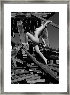 Splinters Framed Print by Adam Chilson