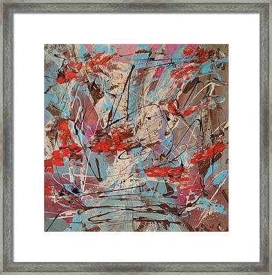Splish Splash Framed Print by Denise Beaupre