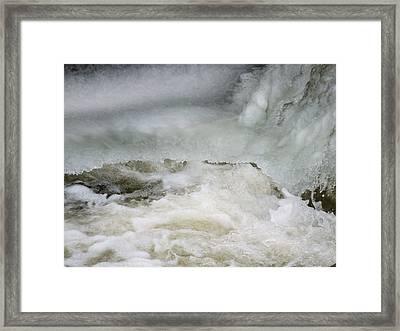 Splish Splash Framed Print by Gene Cyr