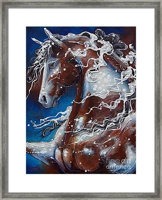 Splish Splashed My Paint Framed Print by Jonelle T McCoy