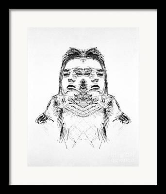 Bipolar Drawings Framed Prints