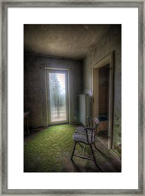 Split Chair Framed Print