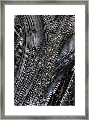 Split Decision Framed Print by Margie Hurwich